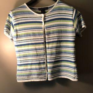 Preppy light weight knit top